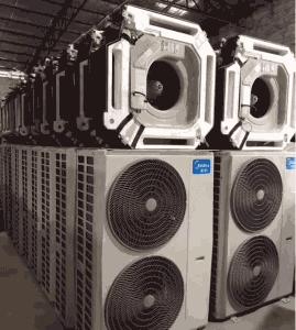 天花机和中央空调相比优缺点